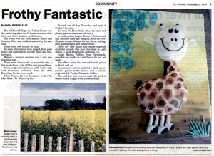 The Tribune Article on the Home & Country Show from November 2010.