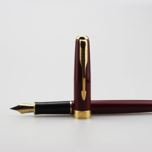 Lady-Pens-Parker-fountain-pen-logo-Stationery-18K-Golden-nib-ink-pen-office-supplies-Quality-Laser-(1)
